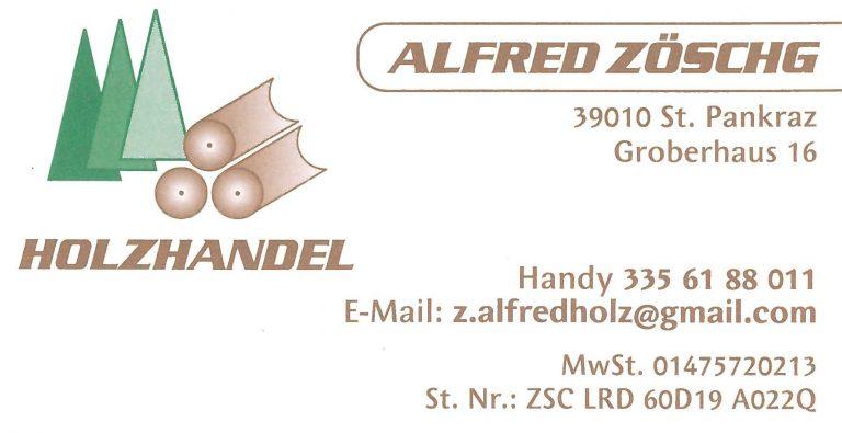 Holzhandel Alfred Zöschg