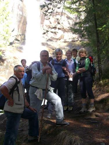 [2009-03-29] Frühlingswanderung Dreikirchen und Barbianer Wasserfälle