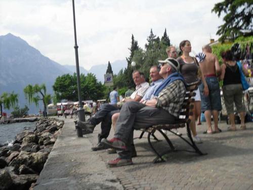 [2009-04-26] Bergtour Monte Stivo - Gardasee-Berge (Bus)
