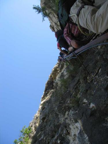 [2009-05-03] Klettersteig Fennberg und Wanderung überetsch
