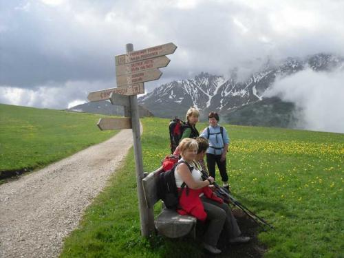 [2009-06-07] Bergtour Schlern Petz - Seiser Alm (Bus)