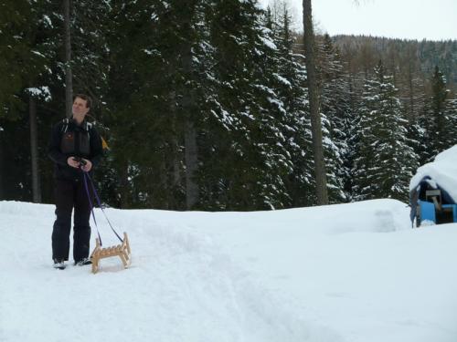 [2011-02-20] Familien-Schneewanderung - Laugner Alm