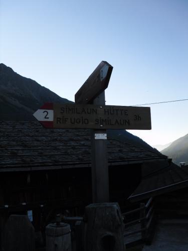 [2012-08-19] Bergtour Similaunhütte und ötzi-Fundstelle
