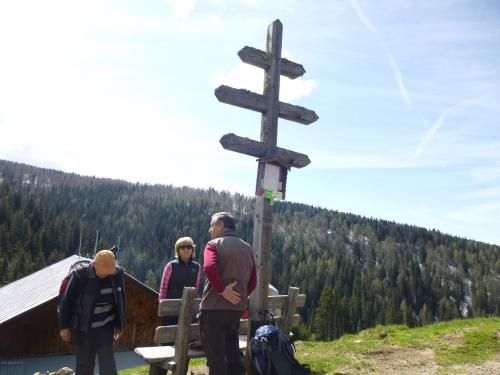 [2013-05-26] Panoramaweg - Bergwanderung auf Meran 2000 - Sarntaler Alpen