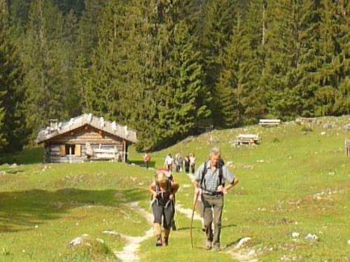[2013-06-16] Bergtour Tschamintal - Tierser Alpl - Grasleitenhütte Rosengartengruppe