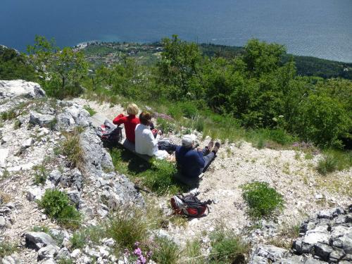 [2014-05-04] Gardaseefahrt - Klettersteig Susatti und Bergwanderung auf den Monte Castello di Gaino (Bus)
