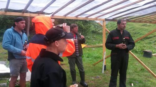 [2014-07-26] Vorbereitungsarbeiten Zeltlager