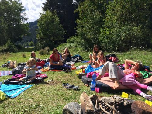 [2014-08-24] Familien- und Mountainbiketour und Grillen - Zoggler-Stausee