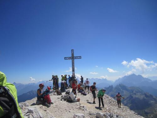 [2016-08-28] Bergtour rund um die Tofana di Rozes und G. Lipella Klettersteig - Ampezzaner Dolomiten (Bus)