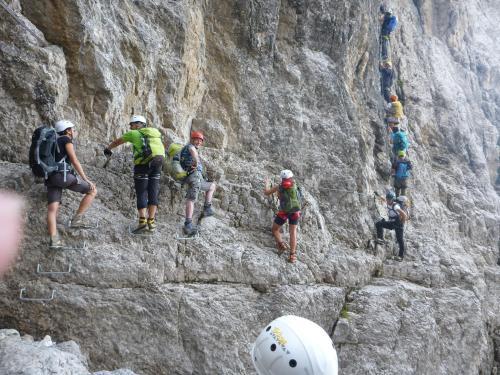 [2016-09-04] Bergwege und Klettersteige in der Brentagruppe (Bus)